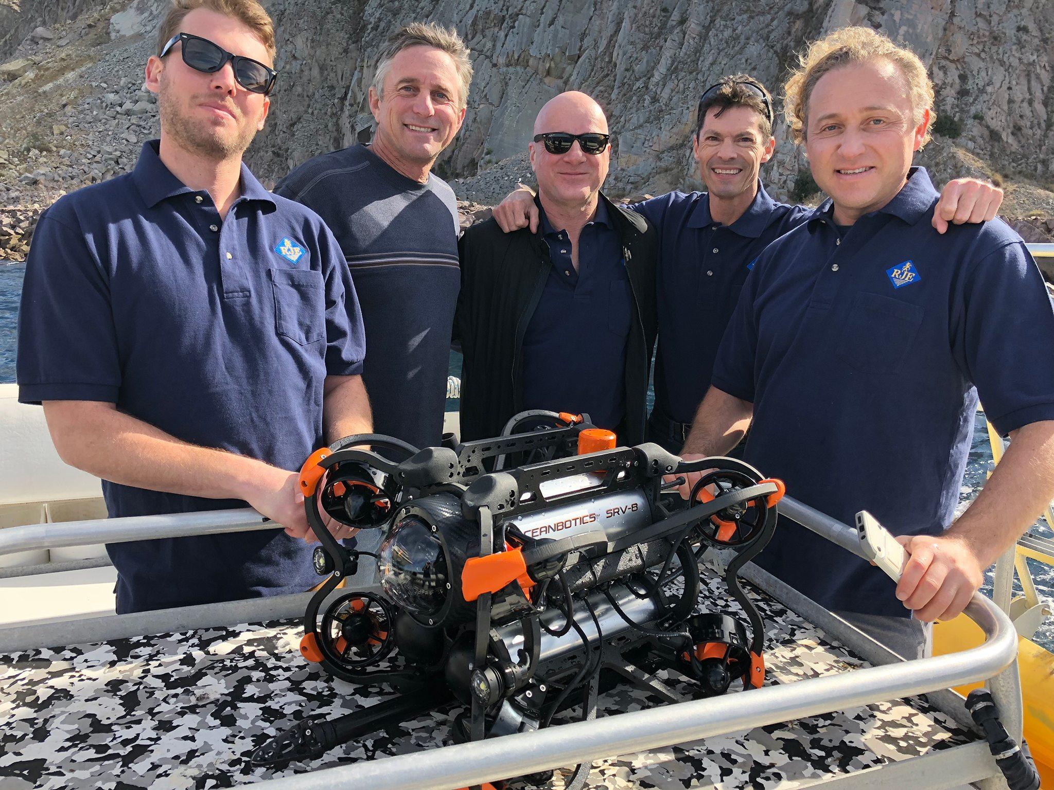 ROV Team Image