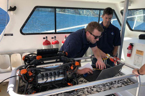 ROV Team Setup Image