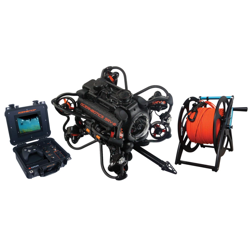 SRV-8 remotely operated underwater vehicle complete system