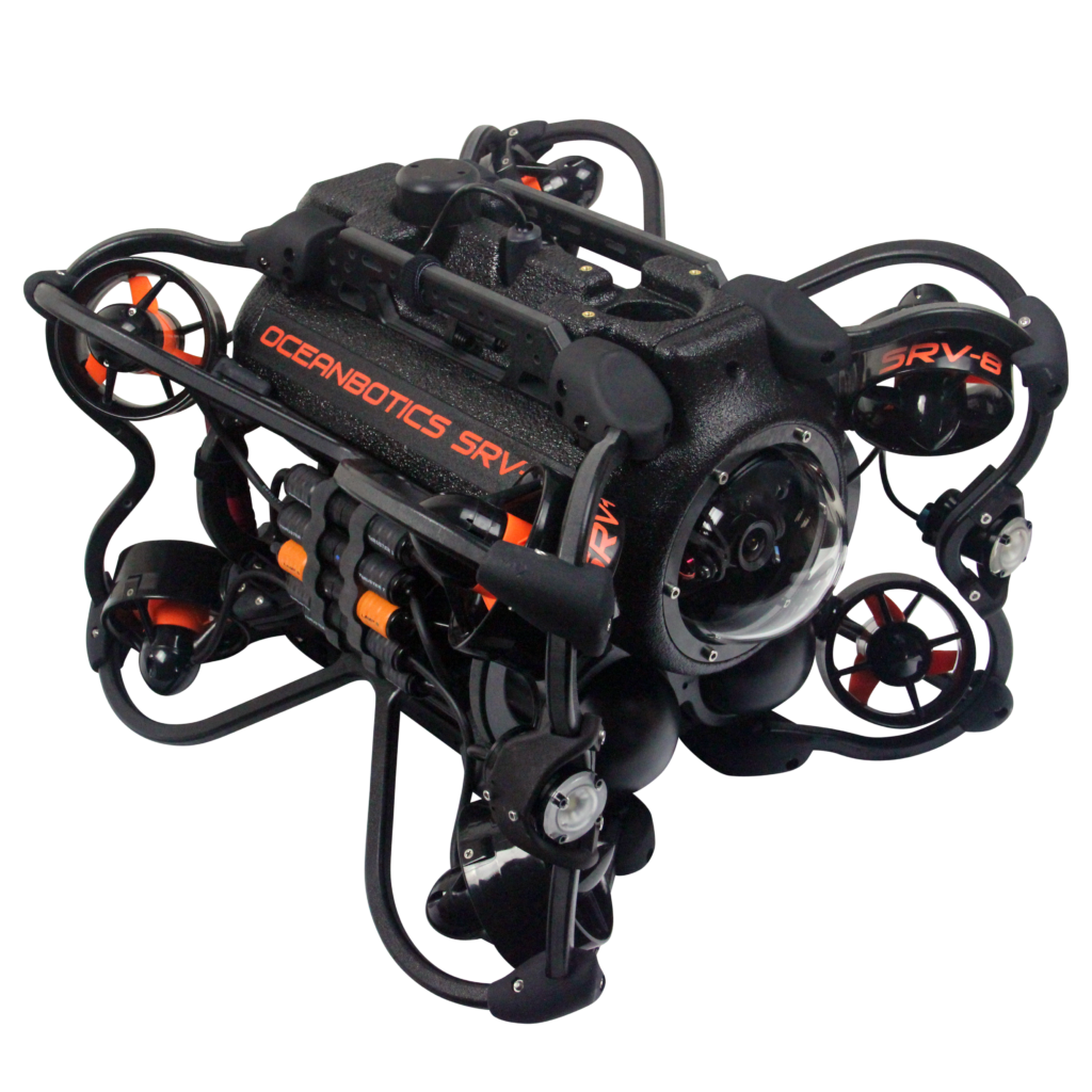 SRV-8 remotely operated underwater vehicle modular frame
