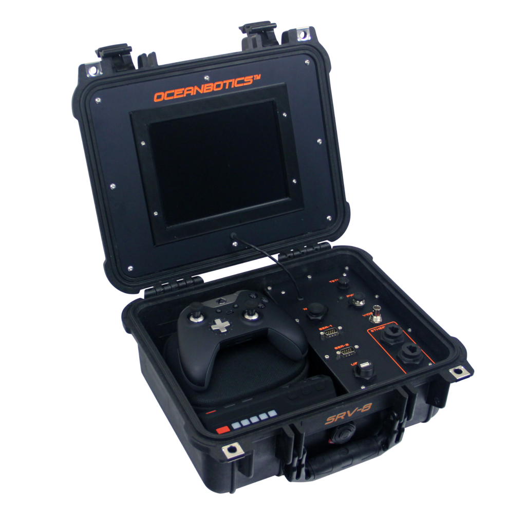 SRV-8 remotely operated underwater vehicle topside control box