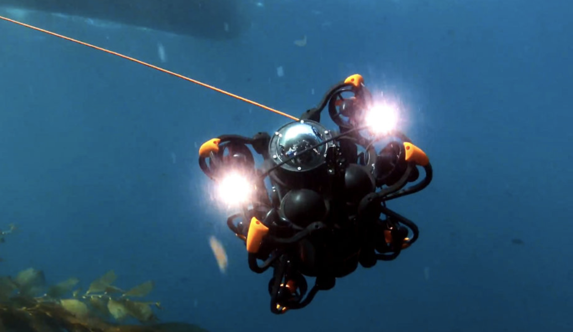 SRV-8 remotely operated underwater vehicle underwater