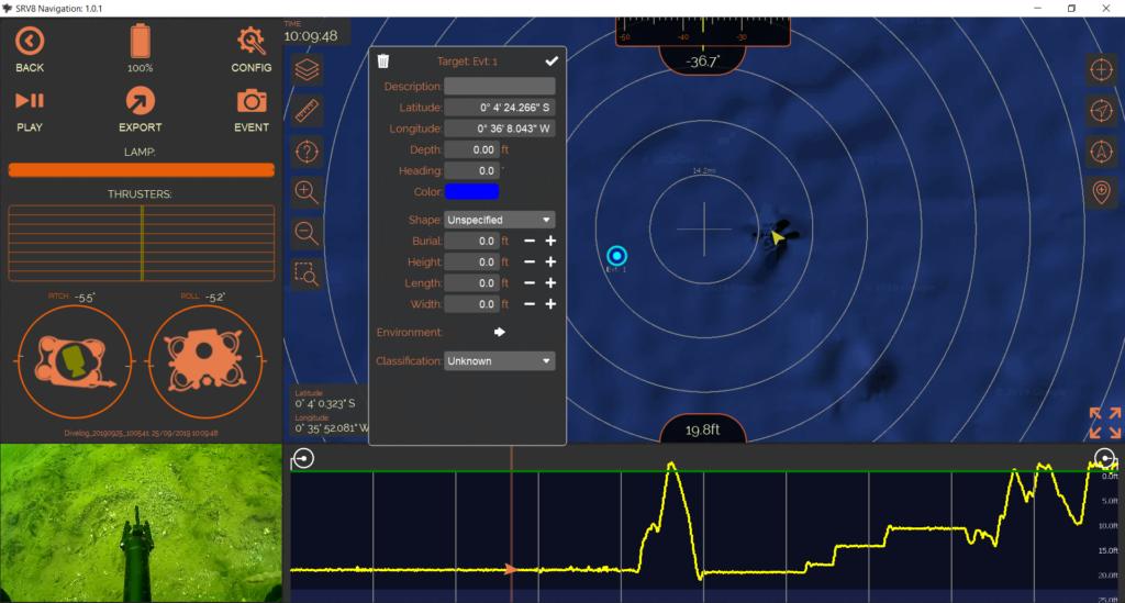 srv-8 software nav control