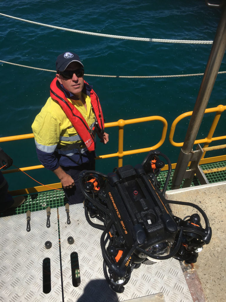Royal Australian Navy Hull Inspection