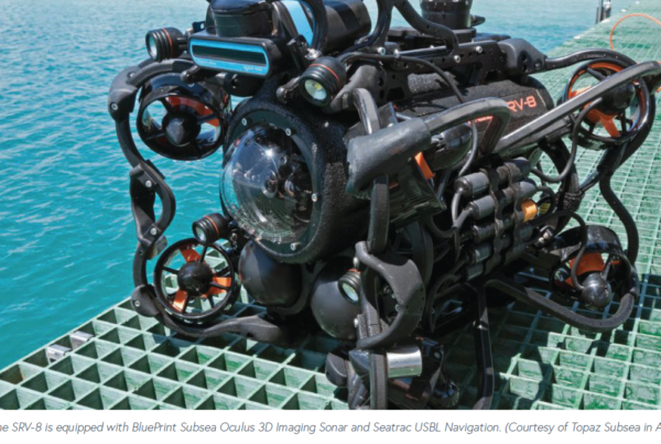 Oceanbotics SRV-8 Featured in Ocean News & Technology